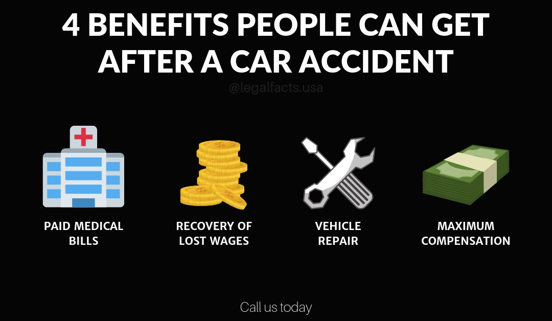 4 Benefits People Can Get After A Car Accident