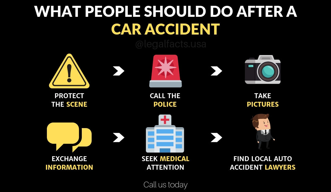 What People Should Do After A Car Accident