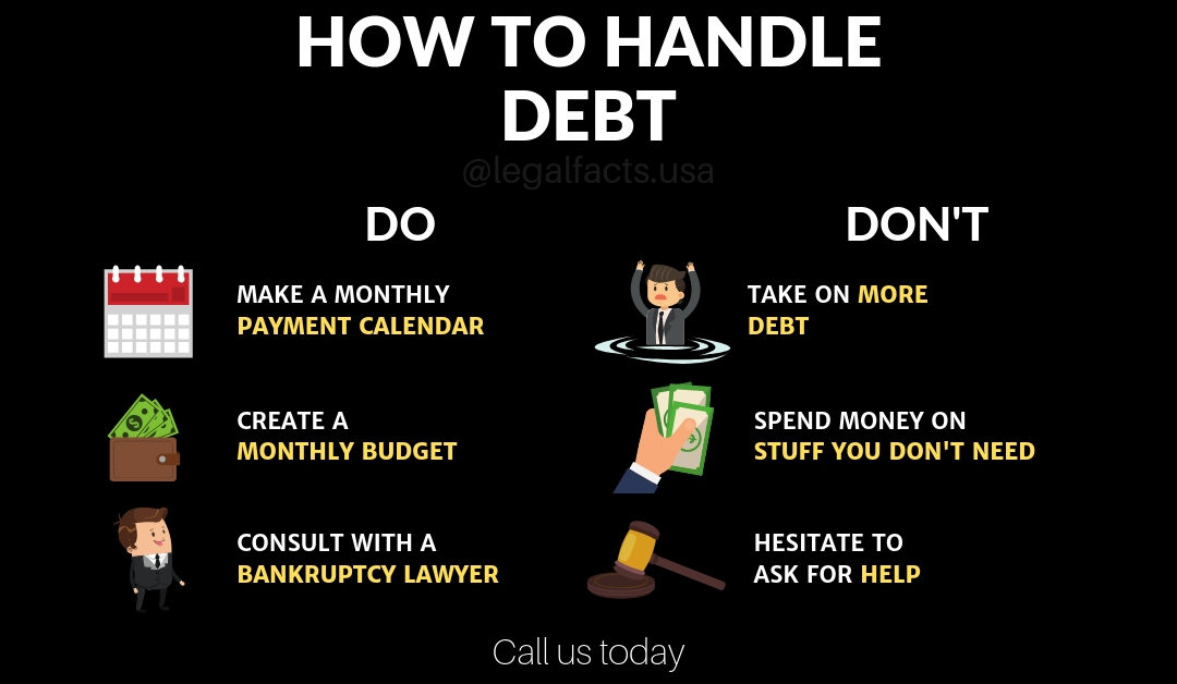 How To Handle Debt – Do's and Don'ts
