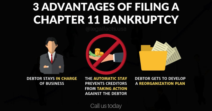 3 Advantages Of Filing A Chapter 11 Bankruptcy