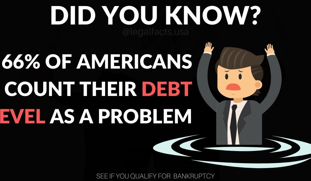66% of Americans Count Their Debt Level As A Problem
