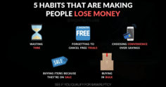 5 Habits That Are Making People Lose Money