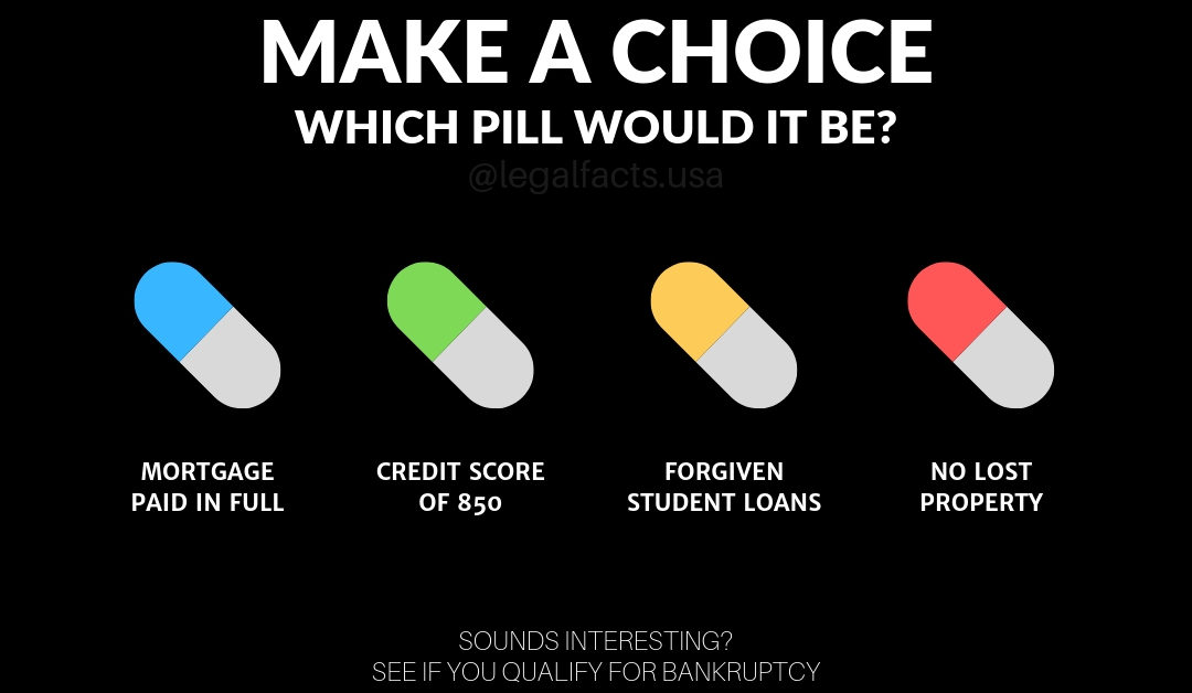 Which Bankruptcy Pill Do You Need?
