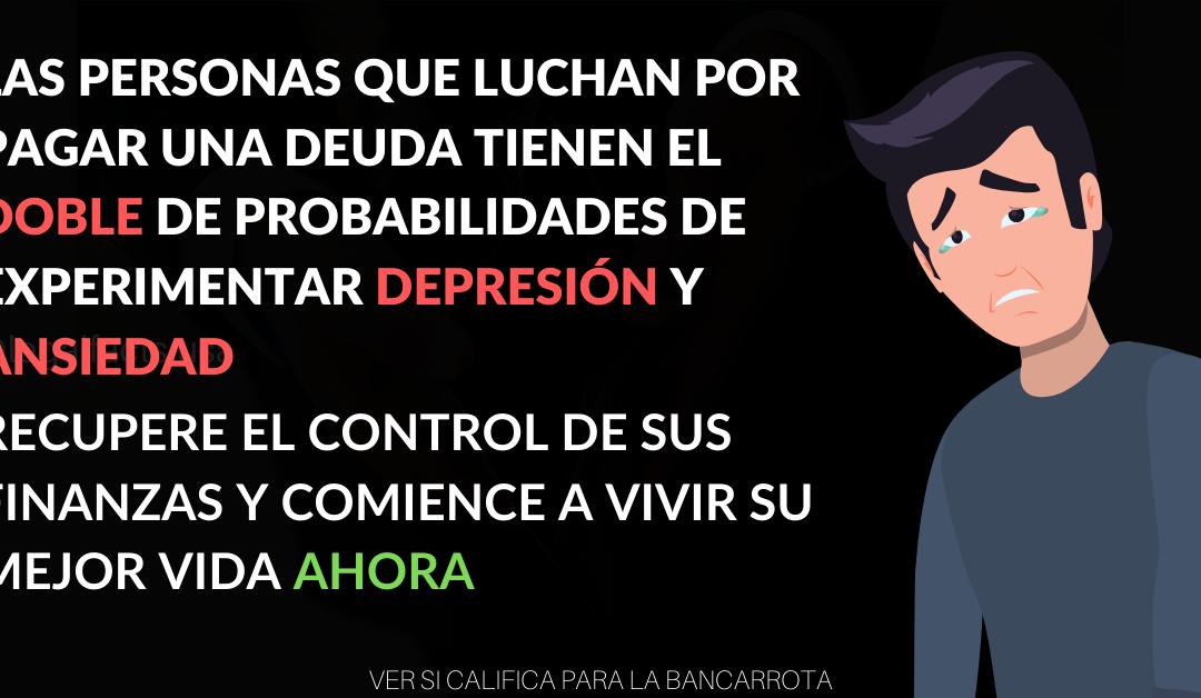 Los Problemas de Deudas Pueden Causar Depresión y Ansiedad