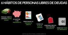 6 Hábitos De La Gente Libre De Deudas