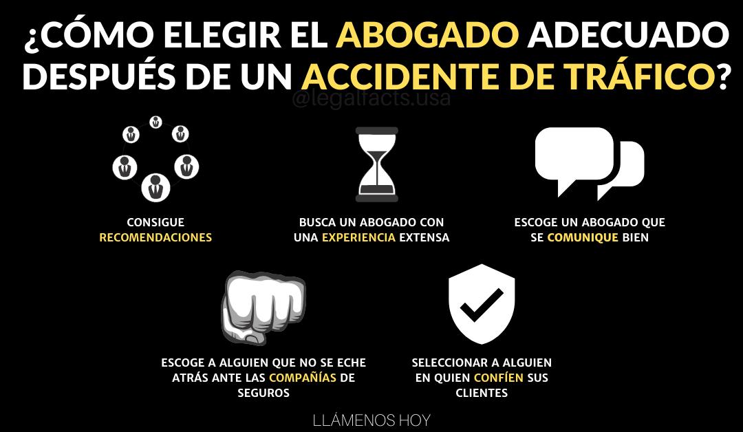 Cómo Elegir El Abogado Correcto Después De Un Accidente De Auto