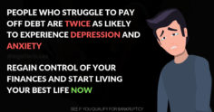 How to Deal With Depression If You're Burdened With Debt
