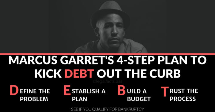Marcus Garret's 4-Step Plan To Kick Debt Out The Curb