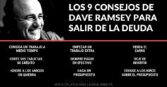 Los 9 Consejos de Dave Ramsey para Salir de la Deuda